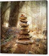Sacred Cairn Canvas Print
