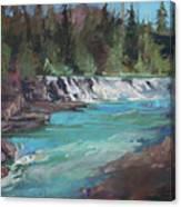 Sacred Dancing Cascade Canvas Print