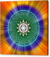 Sacred Geometry 102 Canvas Print