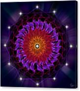 Sacred Geometry 81 Canvas Print