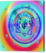 Sacred Healing Rays Of Cho Ku Rei Canvas Print