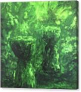 Sacred Latte Stones Canvas Print