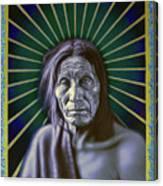 Sacred Native Canvas Print