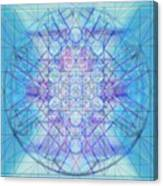 Sacred Symbols Out Of The Void A3c Canvas Print