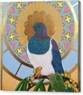 Sacred Wood Pigeon Canvas Print