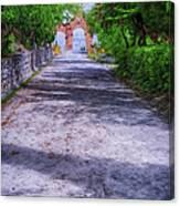 Sacromonte Abbey Entrance Canvas Print