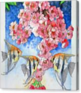 Sacura Canvas Print