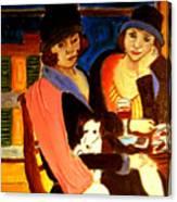 Sad Cafe Canvas Print