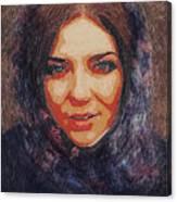 Sad Look Canvas Print