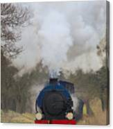 Saddle-tank Locomotive Canvas Print