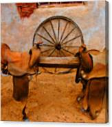 Saddle Town Canvas Print