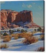 Saddleback Butte-monument Valley Canvas Print