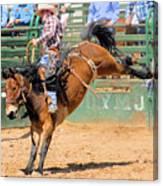 Saddlebronc 101 Canvas Print