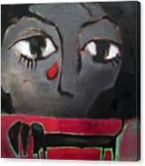 Sadness Canvas Print
