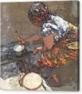 Sadza Canvas Print