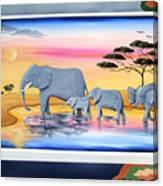 Safari  Canvas Print
