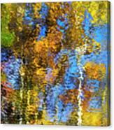 Safari Mosaic Abstract Art Canvas Print