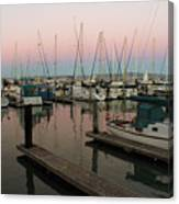 Safe In Harbor Canvas Print