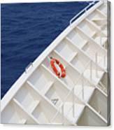 Safety At Sea Canvas Print