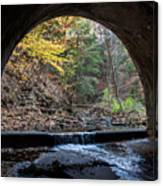 Sagamore Creek Tunnel Entry Canvas Print