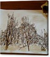 Sage Hall  Canvas Print
