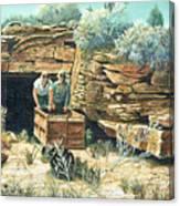 Sage Mine Canvas Print