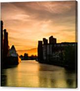 Saginaw At  The Standard Elevator Canvas Print