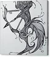 Sagittaurus Canvas Print