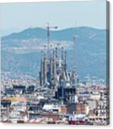 Sagrada Familia 2 Canvas Print