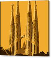 Sagrada Familia Canvas Print