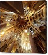 Sagrada Familia In Barcelona Canvas Print