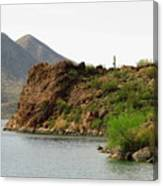 Saguaro Lake Shore Canvas Print