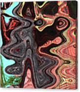 Saguaro Sore Abstract Canvas Print