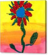 Sahale's Pastel Canvas Print