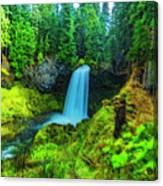 Koosa Falls, Oregon Canvas Print