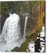 Sahalie Falls, Oregon Canvas Print
