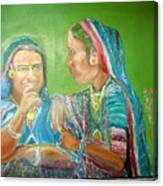 Sahiyer  Friends Canvas Print