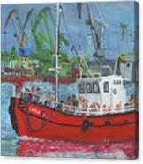 Saida Canvas Print