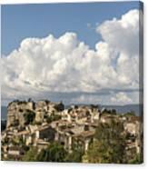 Saignon Village Provence  Canvas Print