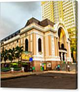 Saigon's Opera House Vietnam Canvas Print