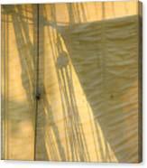 Sail And Shadows Canvas Print
