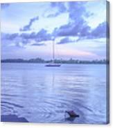 Sail Away Devils Island Canvas Print