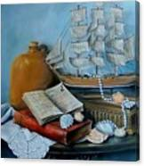 Sail By Tale Canvas Print