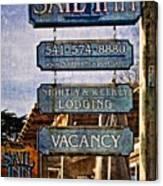 Sail Inn Canvas Print