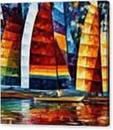 Sail Regatta Canvas Print