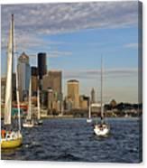 Sail Seattle Canvas Print
