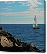 Sail View Canvas Print