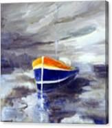 Sailboat 1.0 Canvas Print