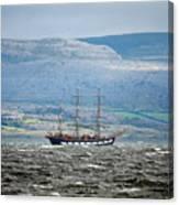 Sailboat Galway Ireland Canvas Print