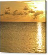 Sailboat On The Horizon 3 Canvas Print